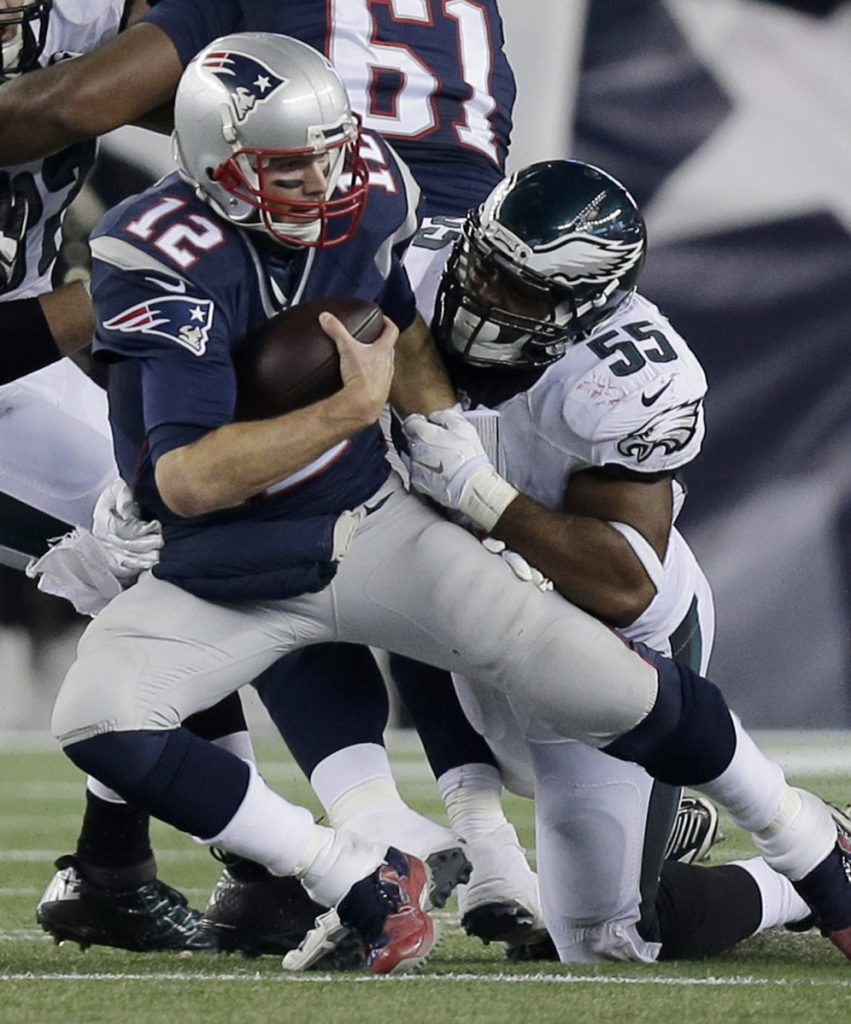 When the Eagles met the Patriots last, they won 35-28. But that was in 2015. A week from Sunday, the teams meet in the Super Bowl and Philadelphia will have six key defensive players from that team that won at Gillette Stadium.