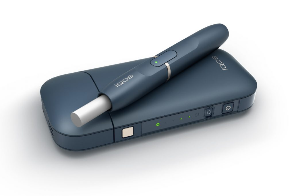 "This undated image provided by Philip Morris in January 2018 shows the company's iQOS product. U.S. government experts have rejected a proposal from Philip Morris International to sell its ""heat-not-burn"" tobacco device as a lower-risk alternative to cigarettes that reduces disease. But the panel of advisers to the Food and Drug Administration endorsed a lesser claim that the product reduces exposure to harmful chemicals in cigarettes. The mixed review suggests Philip Morris will be able to market its device to U.S. smokers, but on limited terms.  (Philip Morris via AP)"