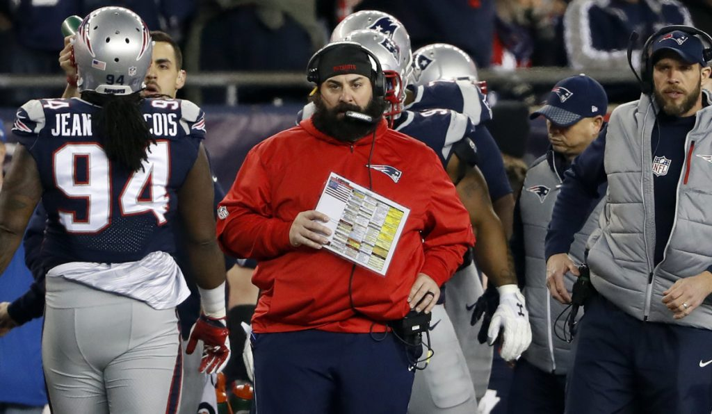 New England defensive coordinator Matt Patricia has occupied a special place on the sidelines, but his venue is expected to change after the Super Bowl. It's all but certain that the Detroit Lions will hire him as head coach.