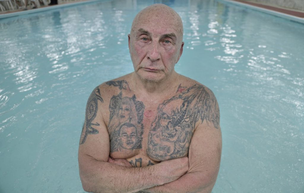 Boris Nayfeld, 70, has been an intimidating figure in New York's Russian-speaking circles for decades. He wants to return to his homeland, but is prohibited because he remains on probation.