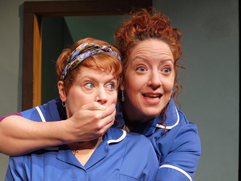 Amy Griffin and Annie Edgerton are cast as Irish home health care aides in