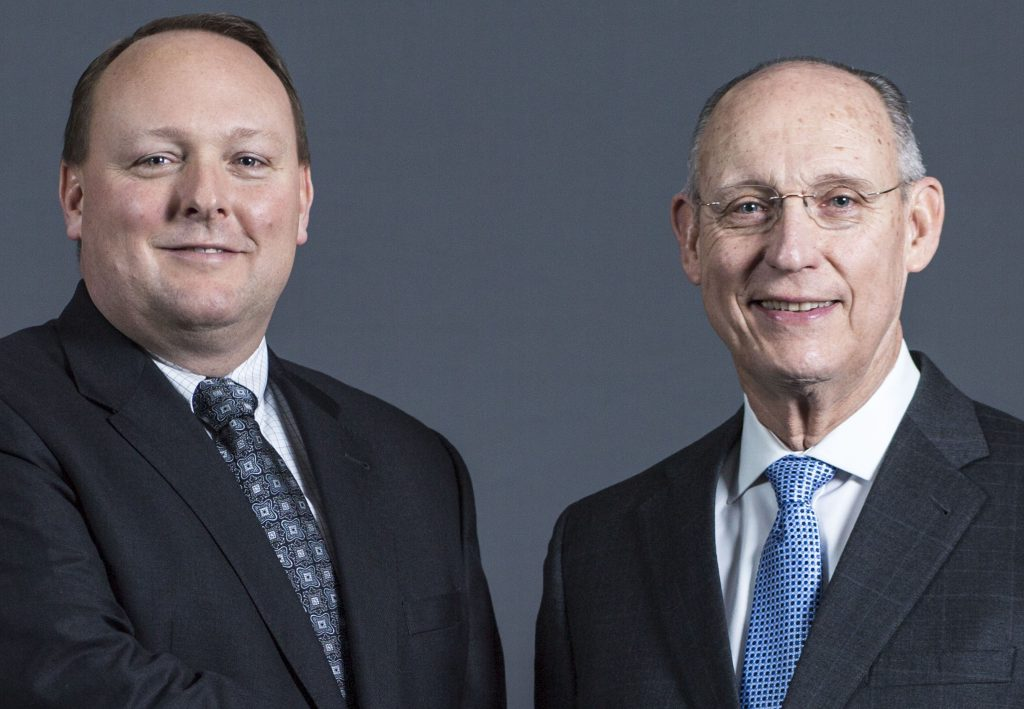 "Longtime Cianbro construction chief Peter Vigue is stepping down as CEO and handing the reins to his son, Peter ""Andi"" Vigue."