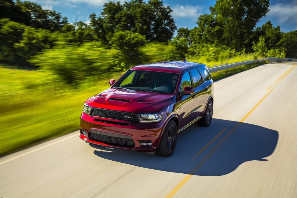 The 2018 Dodge Durango SRT.