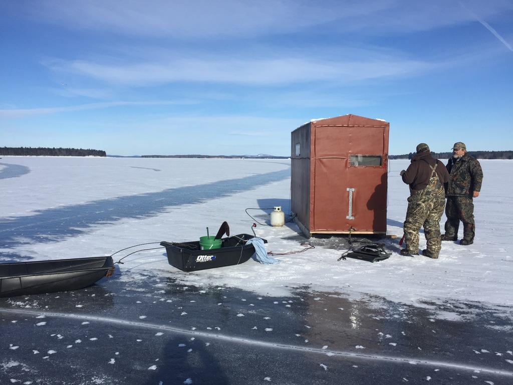 Ice fishermen see 39 crazy 39 season ahead keep me current for Ice fishing near me
