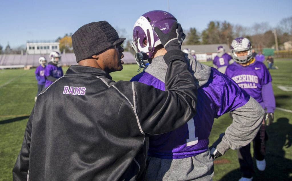 Fellow coaches and former players praised Jason Jackson, who was let go as Deering High's football coach.