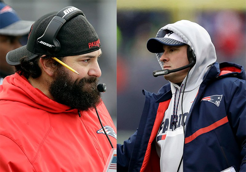 Matt Patricia (left) and Josh McDaniels