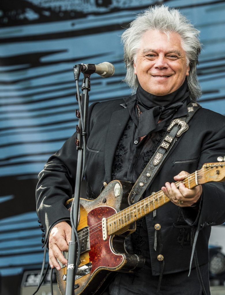 Country singer and musician Marty Stuart performs at the Pilgrimage Music and Cultural Festival on Sept. 24, 2017, in Franklin, Tenn.