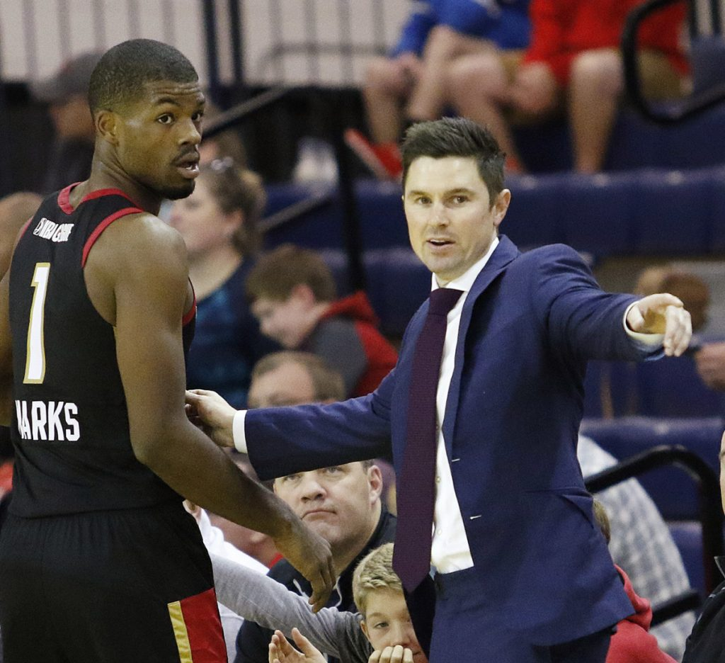 Josh Longstaff, a former Portland High player now coaching Erie of the G League, through video work was able to give answers to players named Durant, Westbrook, Harden …