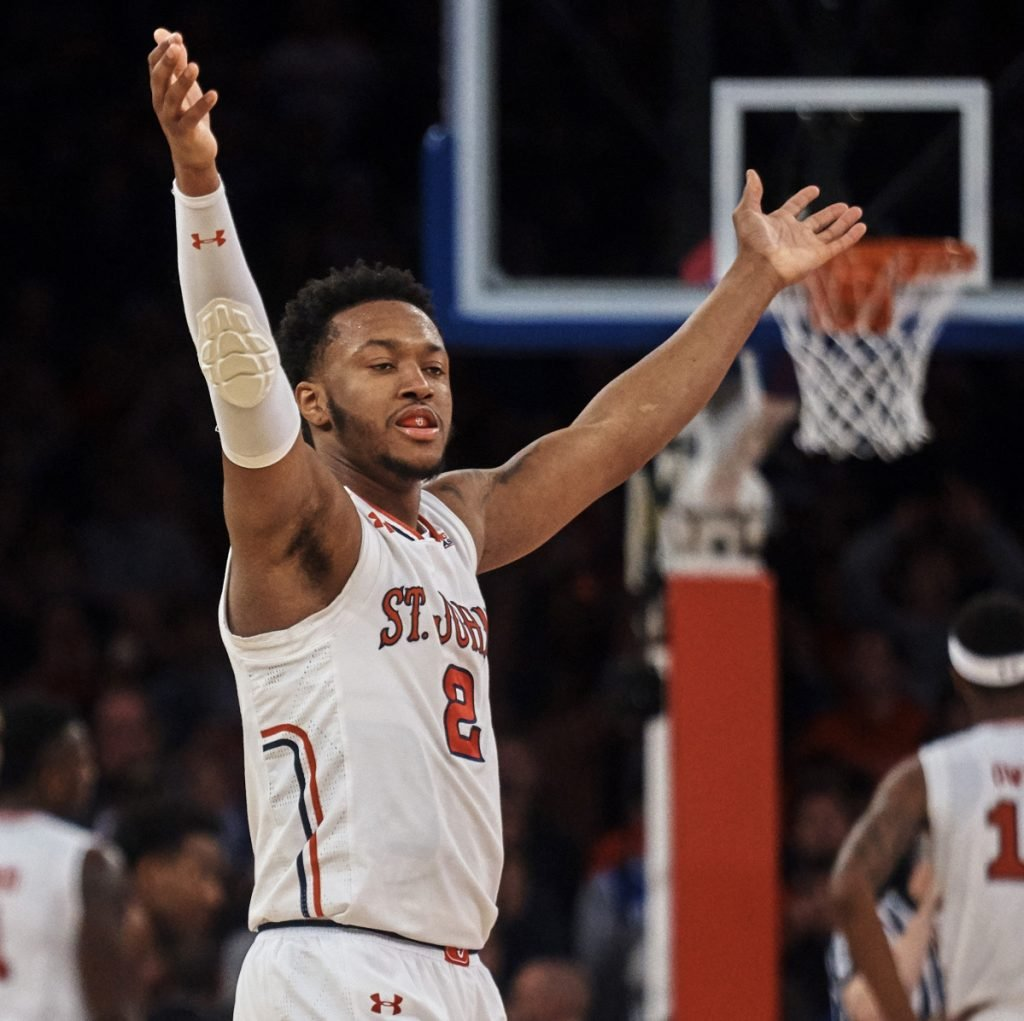 Shamorie Ponds had plenty of cause to celebrate Saturday, scoring 33 points to help St. John's – which entered with an 11-game losing streak – come away with an 81-77 upset victory against fourth-ranked Duke.