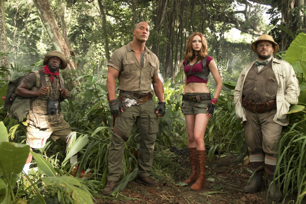 Sony's Jumanji holds on to Box Office number one position