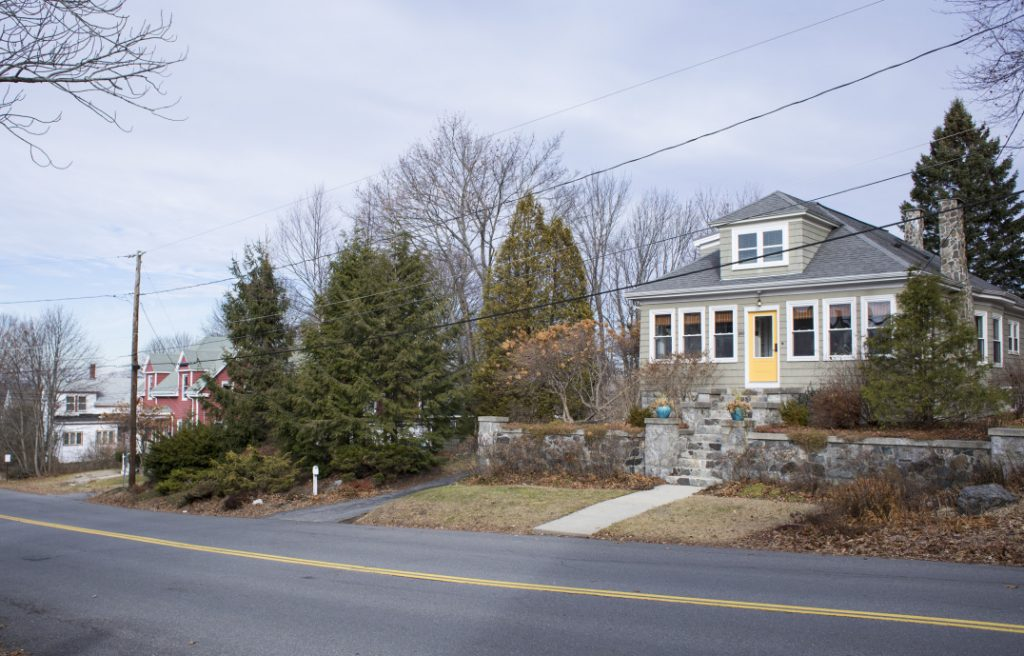 Short-term rentals, like those listed with Airbnb, have sprung up in the Willard Beach neighborhood of South Portland. Some are separate homes, like this one on Preble Street. Airbnb's 210 active listings in the city logged 10,800 guests in the last year.