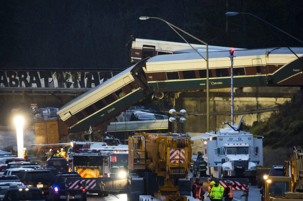 Investigators eye manual switch in deadly train collision