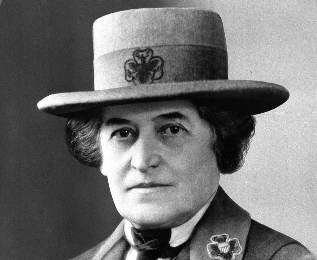 Juliette Gordon Low of Savannah, Ga., founded the Girl Scouts in 1912. Scouts are rallying around a proposal to name a Savannah bridge after her. Associated Press