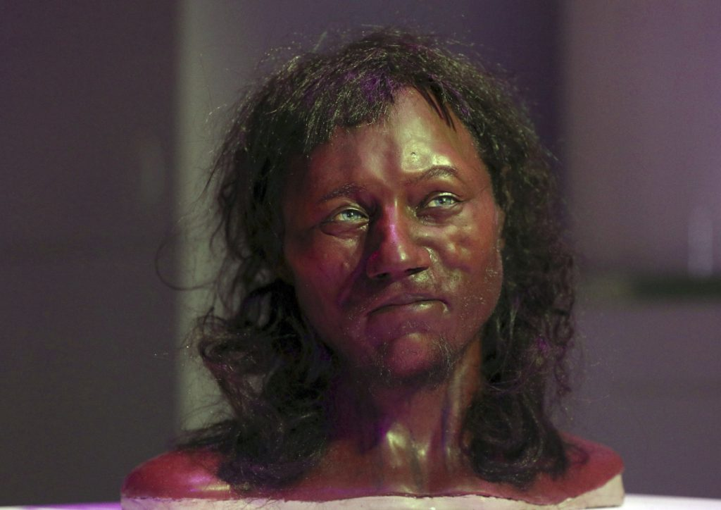 First modern Britons had 'dark to black' skin, Cheddar Man DNA