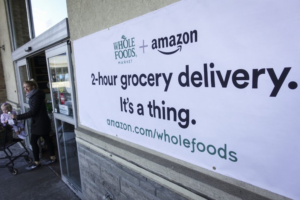 Amazon To Roll Out Grocery Delivery At Whole Foods