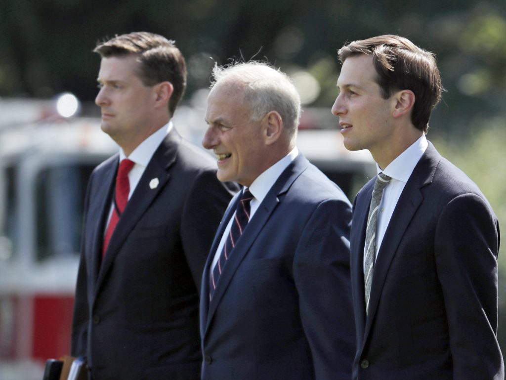 White House aide Rob Porter quits as ex-wives allege abuse