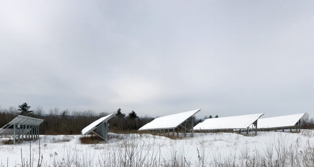 Residents who invested in the Sky Ranch Community Solar Farm in Wayne are asking Kennebec County commissioners to review the decision to deny a tax abatement.