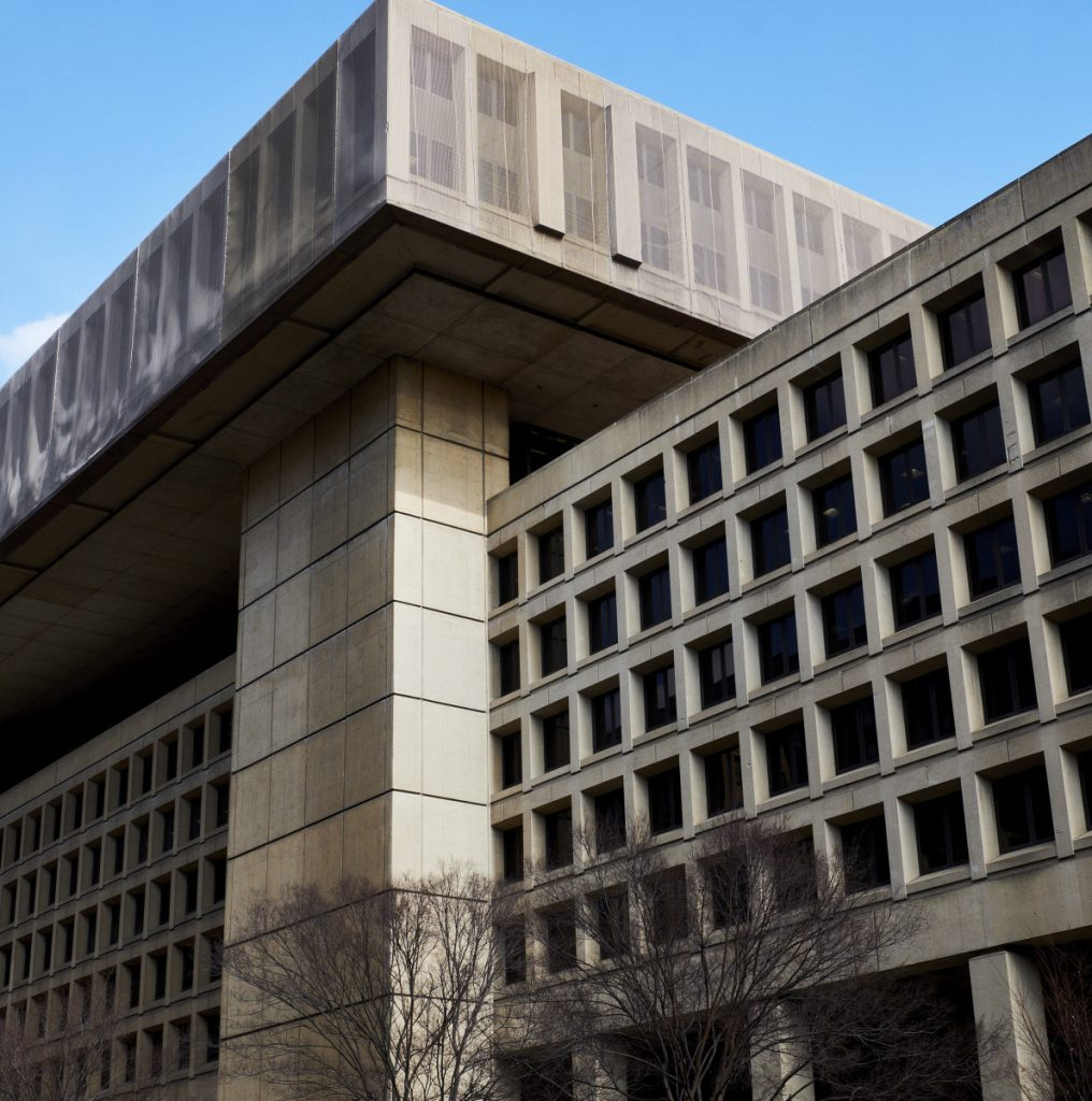 On Monday, the Trump administration proposed keeping about 8,300 FBI headquarters staff in the Washington, D.C., area.