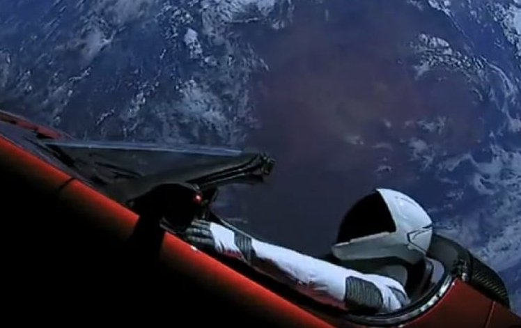 The Tesla Roadster and spacesuit-clad dummy launched into space Feb. 6 will pass near Earth in 2091, with a 6 percent chance of colliding.