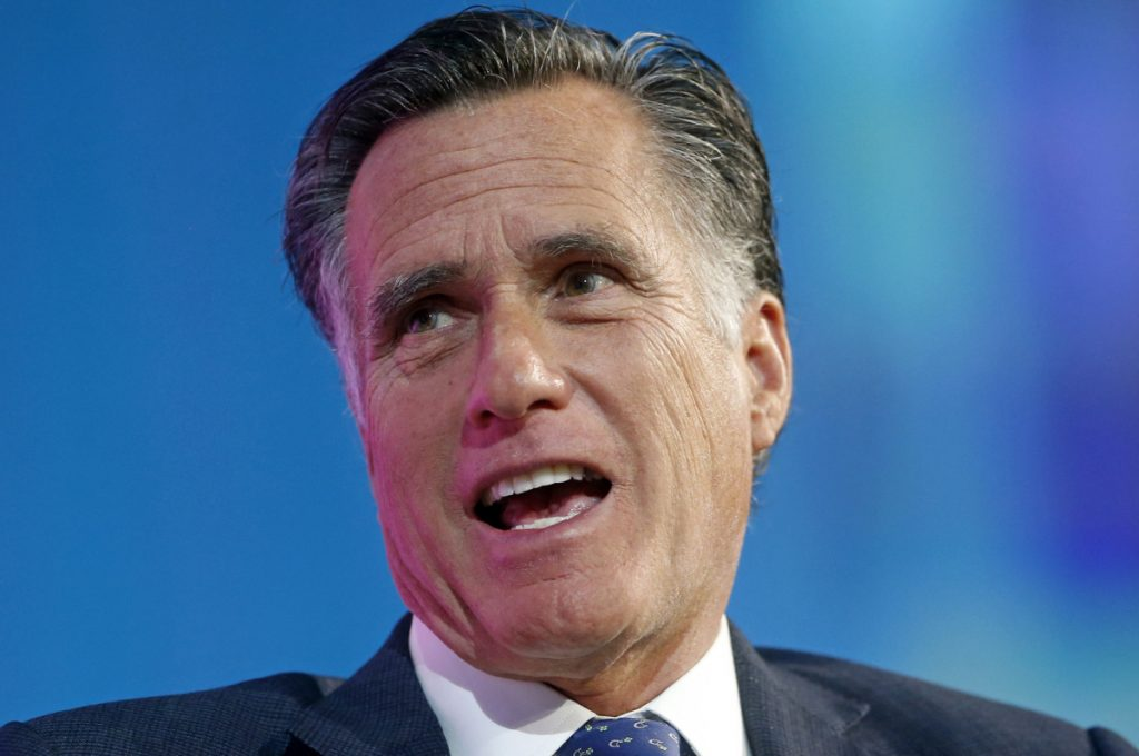 Former Republican presidential candidate and Massachusetts Gov. Mitt Romney launched his campaign for U.S. senator from Utah on Friday.