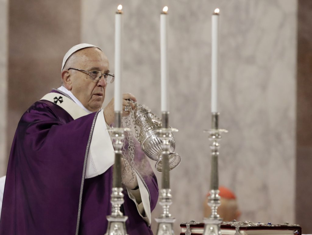 Pope Francis says he's on sainthood 'waiting list'