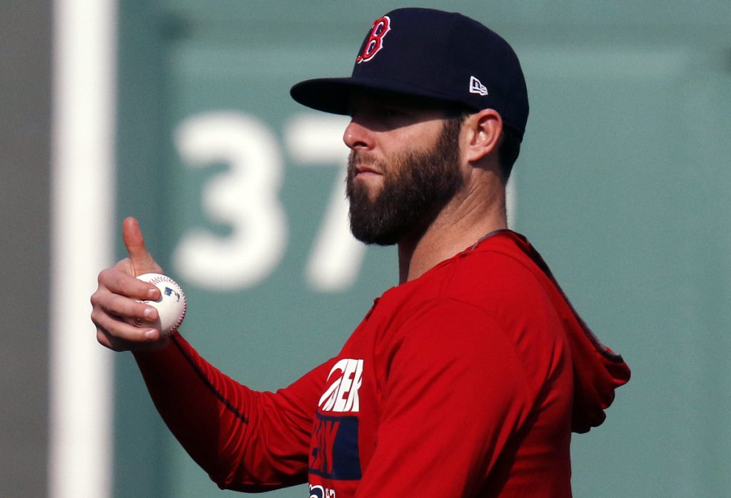 Dustin Pedroia injured his left knee last April and was in pain the rest of the season. He had offseason surgery and is focusing on remaining healthy for the remainder of his career.