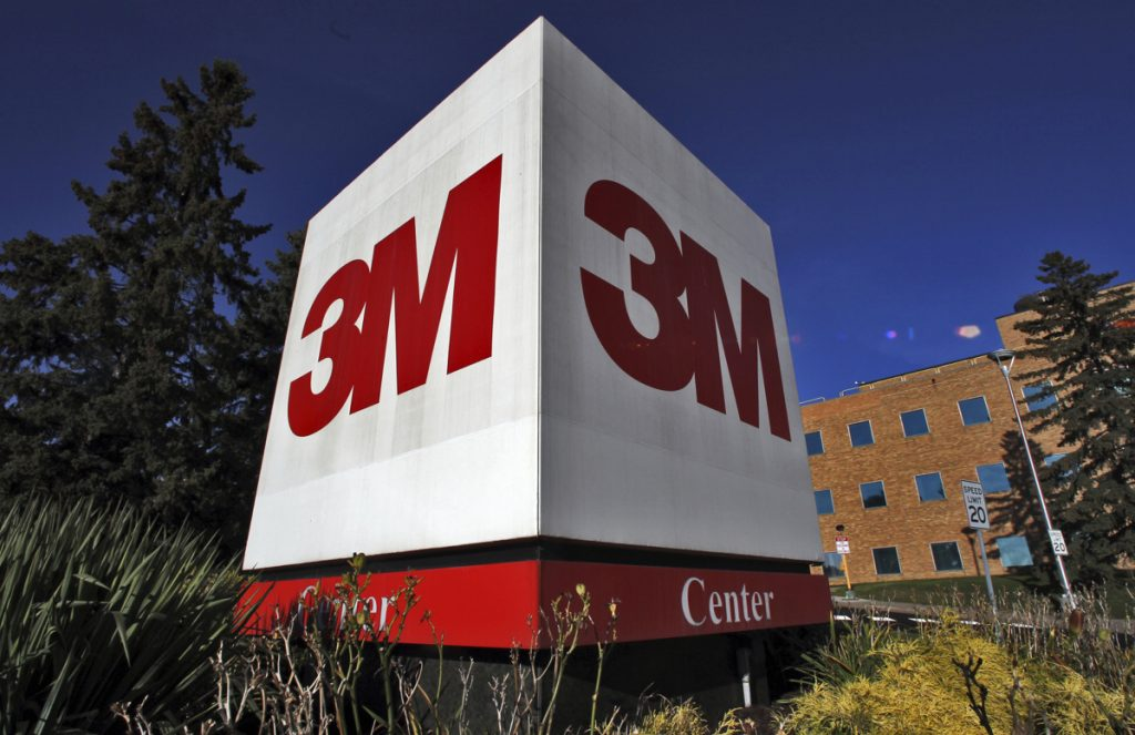 This undated photo shows 3M in St. Paul, Minn. Minnesota officials will soon try to convince a jury that manufacturer 3M Co. should pay the state $5 billion to help clean up environmental damage that the state alleges was caused by pollutants the company dumped for decades. The long-awaited trial begins Tuesday, Feb. 20, 2018, in Minneapolis. (Marlin Levison/Star Tribune via AP)