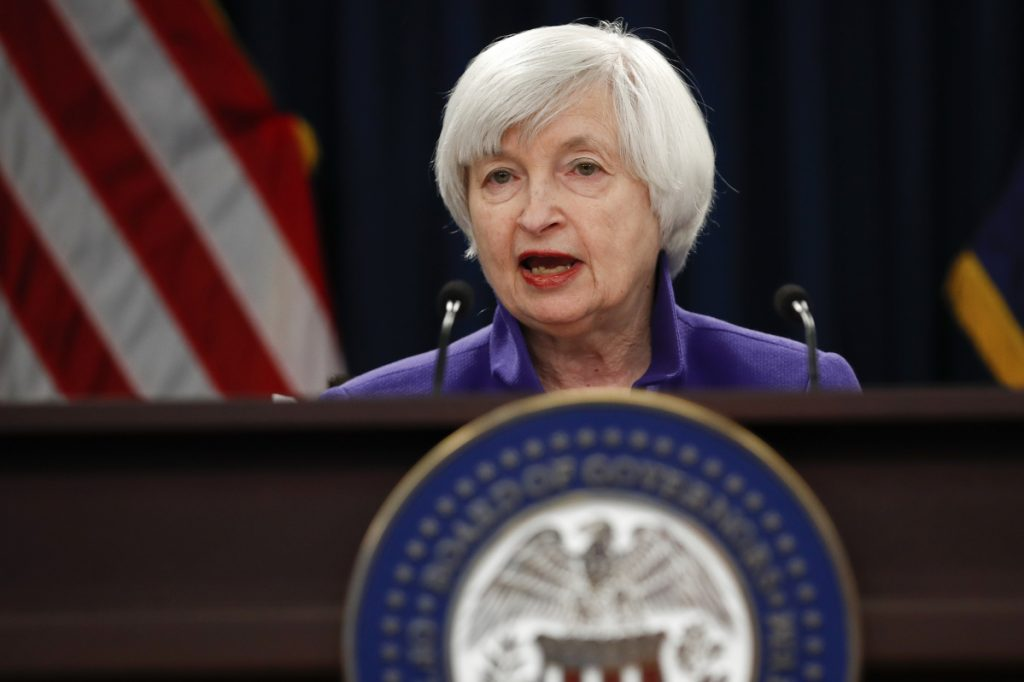 The January Fed meeting was the last chaired by Janet Yellen. Jerome Powell succeeds her.