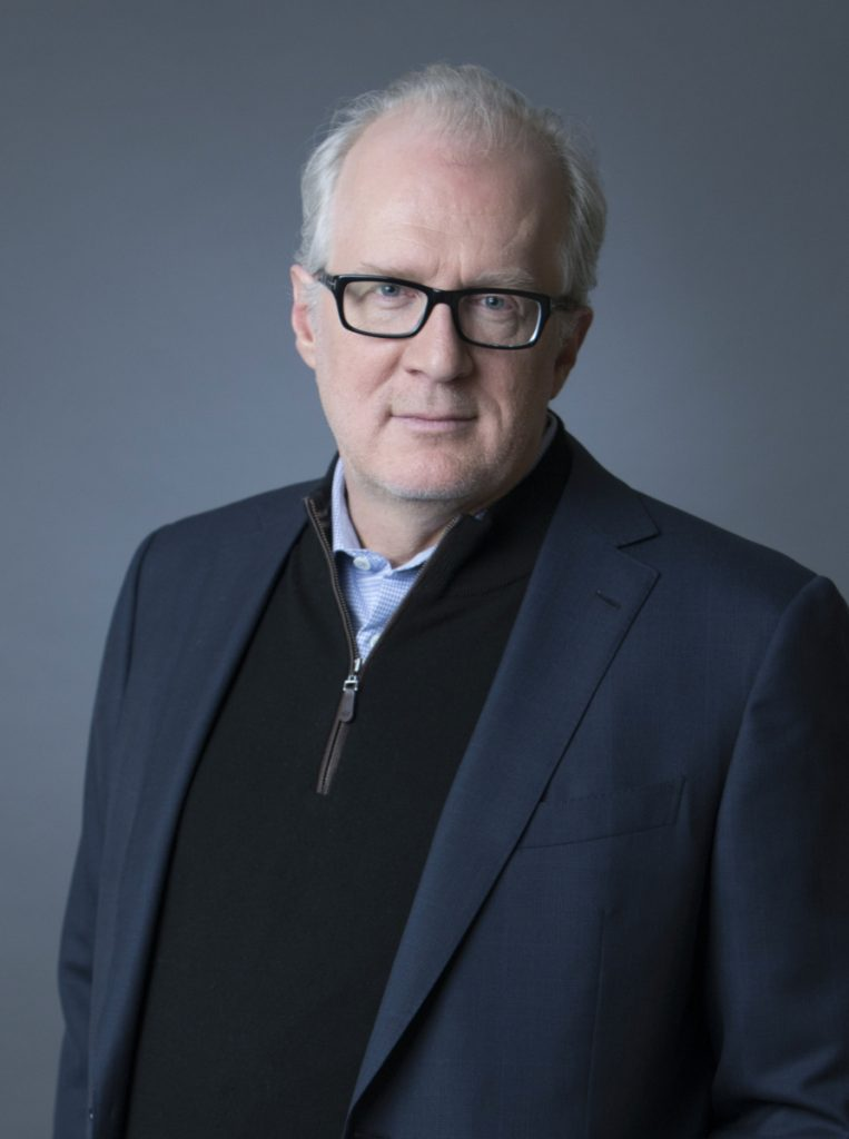 """I'm having the time of my life,"" says celebrated actor and playwright Tracy Letts."