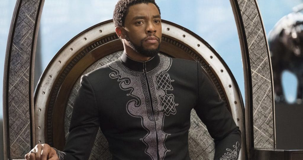 As Prince T'Challa, Chadwick Boseman portrays a leader who has to struggle between taking care of his own people, or extending his power to help people outside his borders who are being oppressed.