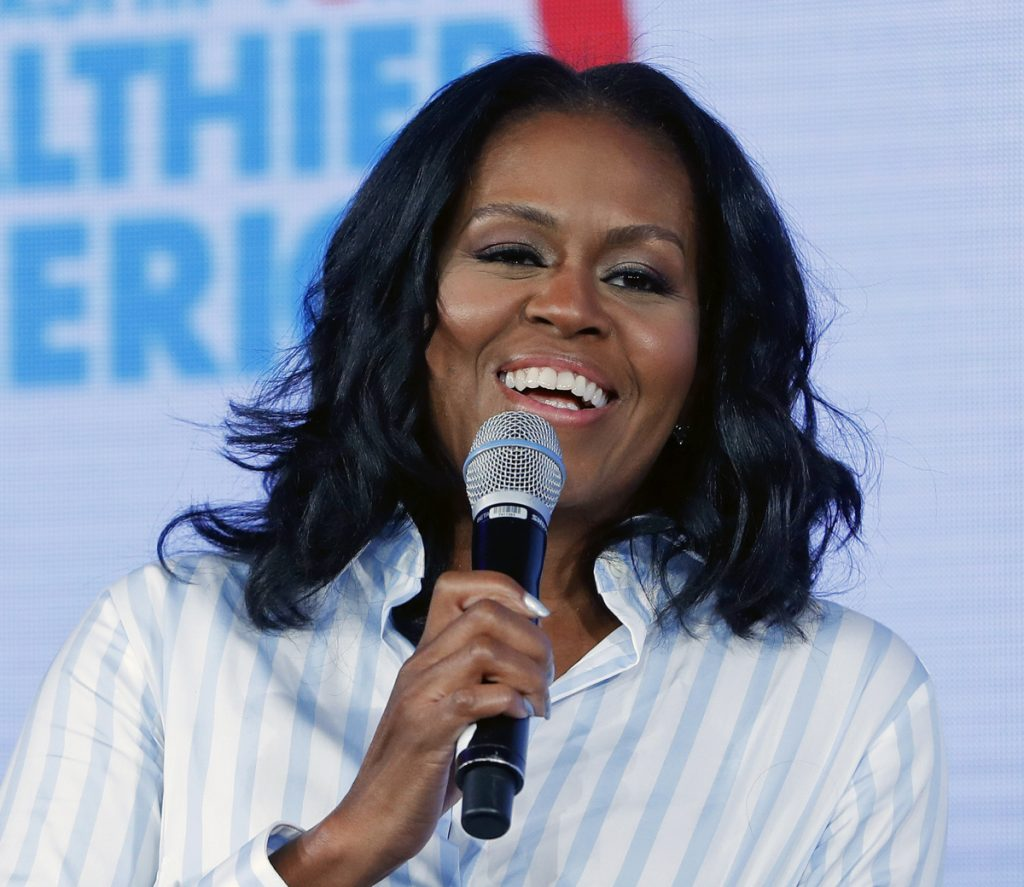 "Former first lady Michelle Obama tweeted Sunday that her memoir coming out Nov. 13 is called ""Becoming."""