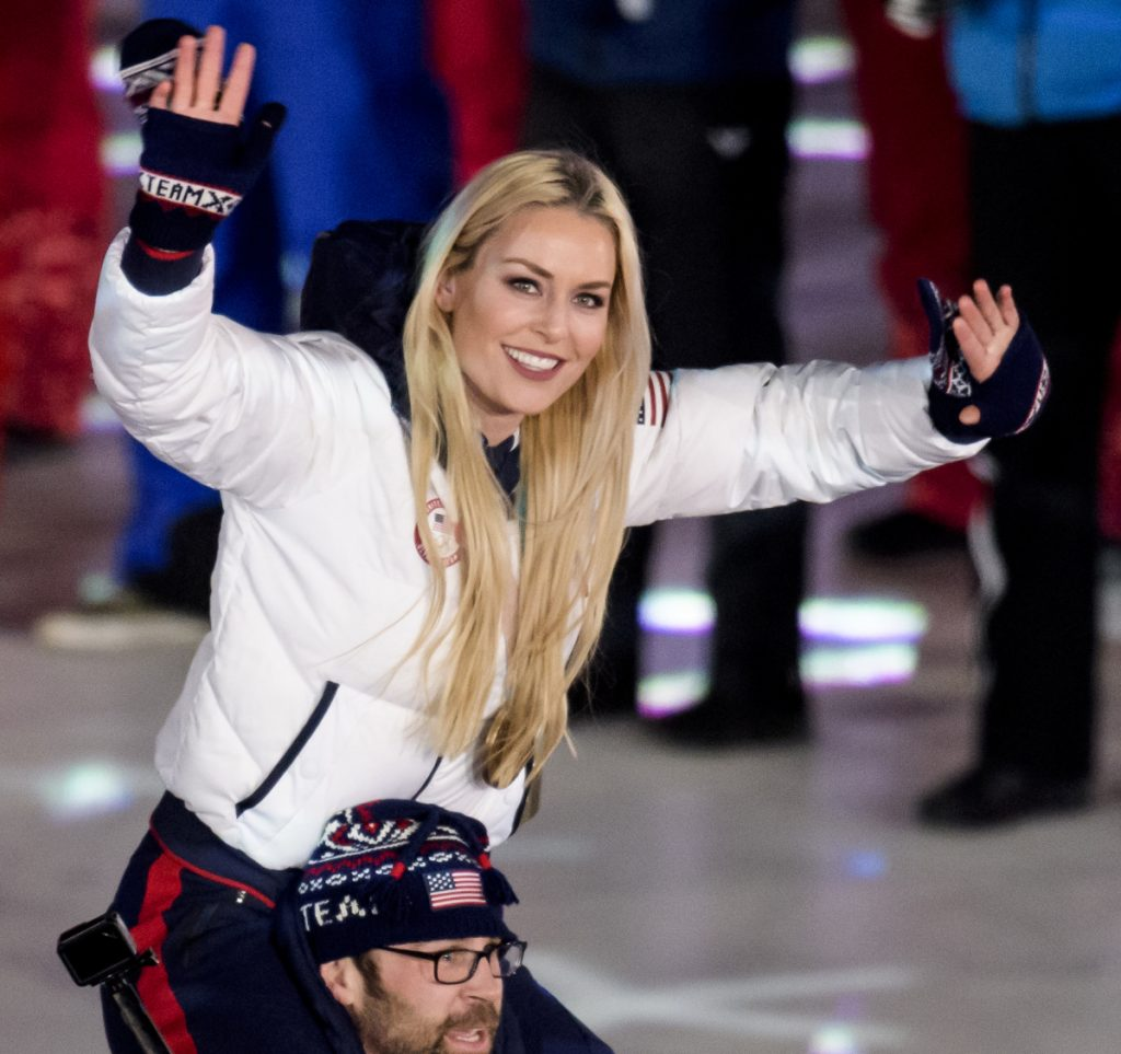 Lindsey Vonn, a skier entering the closing ceremonies with teammate Nick Baumgartner, may be on the way out of Olympic competition. Alpine skiing, speedskating and figure skating are among sports with little U.S. world-class talent on the way.