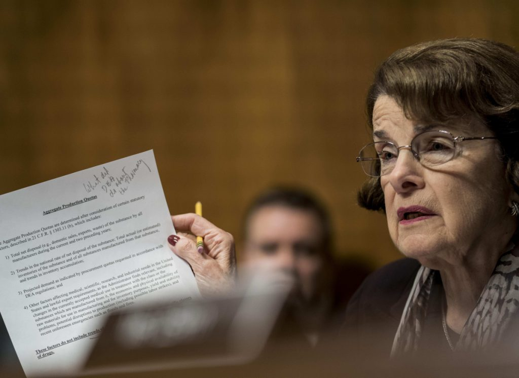 Sen. Dianne Feinstein, D-Calif., once before was denied her party's endorsement when ran for governor of California in 1990.