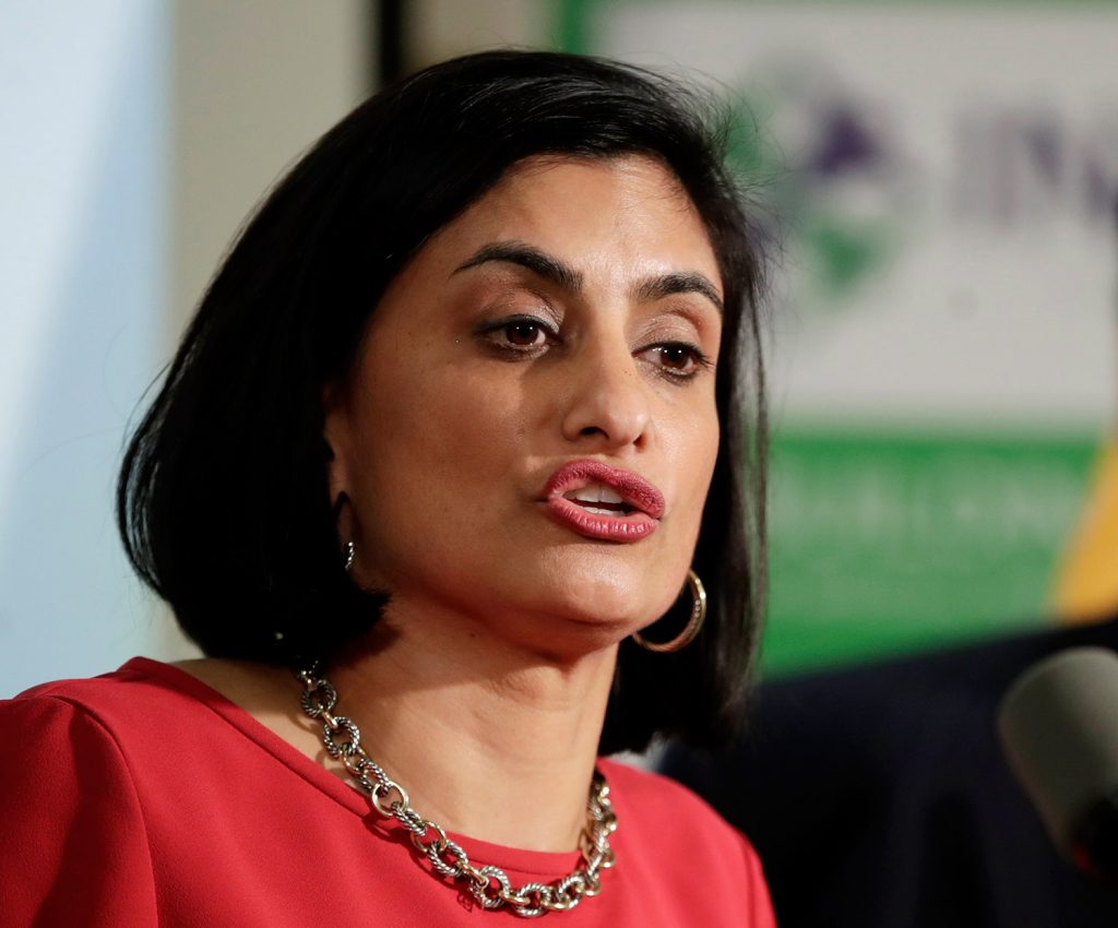 """We must allow states, who know the unique needs of their citizens, to design programs that don't merely provide a Medicaid card but provide care that allows people to rise out of poverty and no longer need public assistance,"" said a statement posted on Twitter on Monday by Medicaid administrator Seema Verma."
