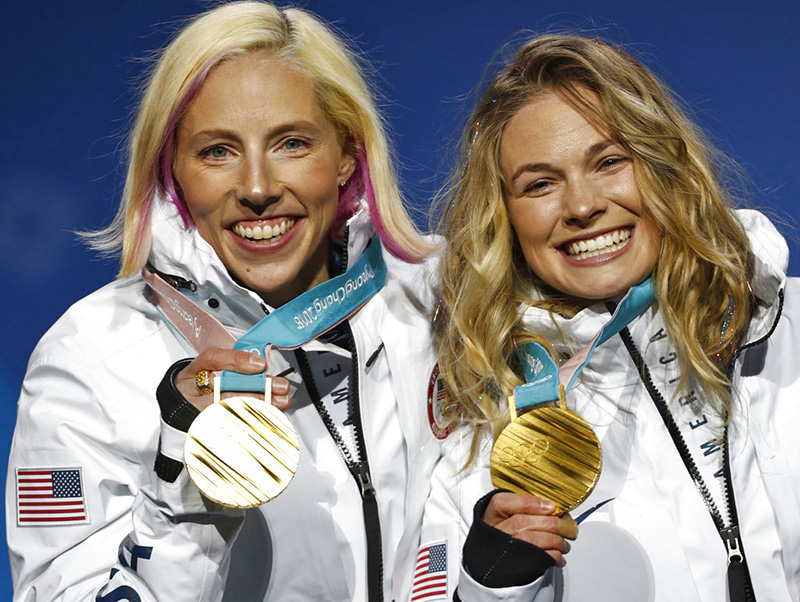Olympics: American women make history in cross-country skiing