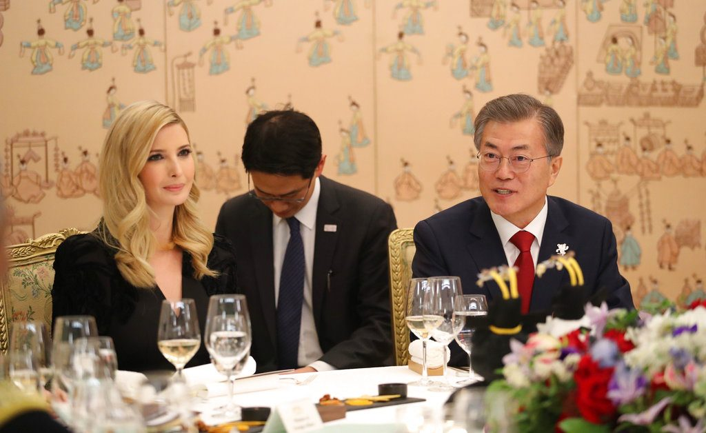 Ivanka Trump arrives in South Korea for Olympics closing