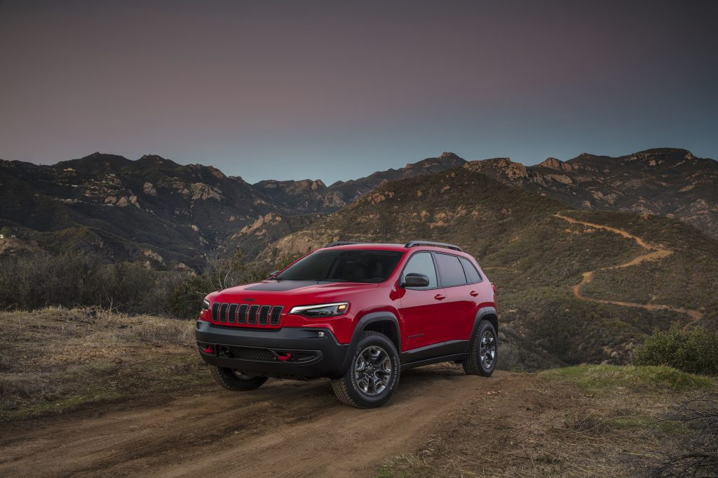 The 2019 Jeep Cherokee Trailhawk.