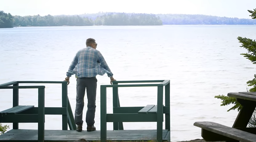 The Maine Office of Tourism has won several awards, including an advertising award for a partnership with L.L. Bean that brought six young adults to Maine for the first time, outfitted them with gear and documented their experiences outdoors with an interactive web package called Chasing the Sun. This is a still from that video series.