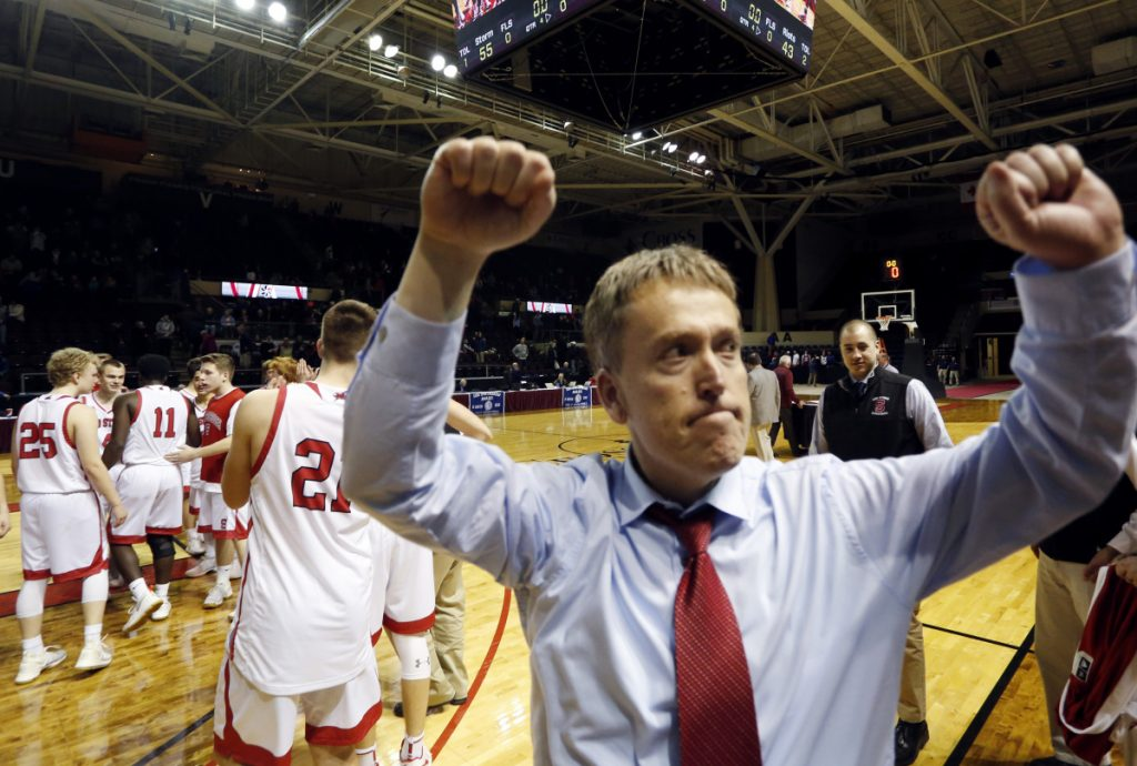 Scarborough Coach Phil Conley, who was released by South Portland in 2015 after a 108-51 record, has his new team in the state final – a first for the program.