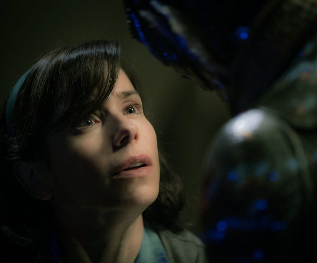 "Sally Hawkins, nominated for best actress, starred in ""The Shape of Water,"" which won Best Picture this year."