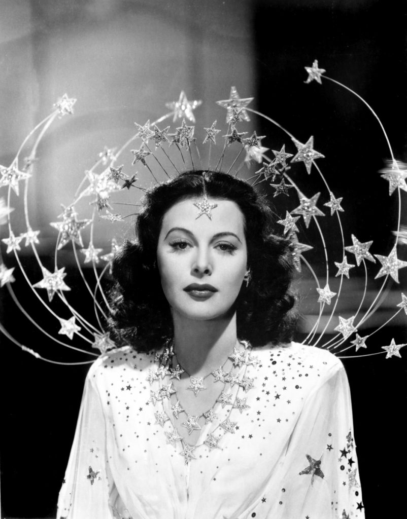 "Still from ""Bombshell: The Hedy Lamarr Story.""      Photo courtesy of Maine Jewish Film Festival         ZIEGFELD GIRL, Hedy Lamarr, 1941"