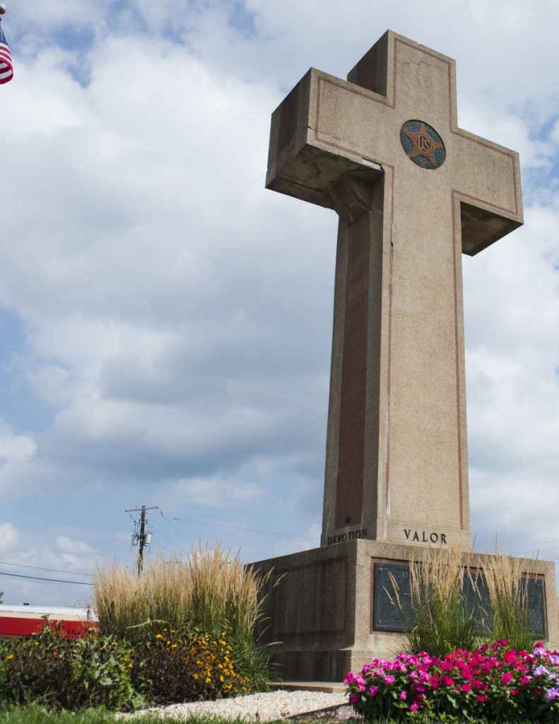 The Peace Cross is a monument to the 49 men of Prince George's County, Md., who died in World War I.