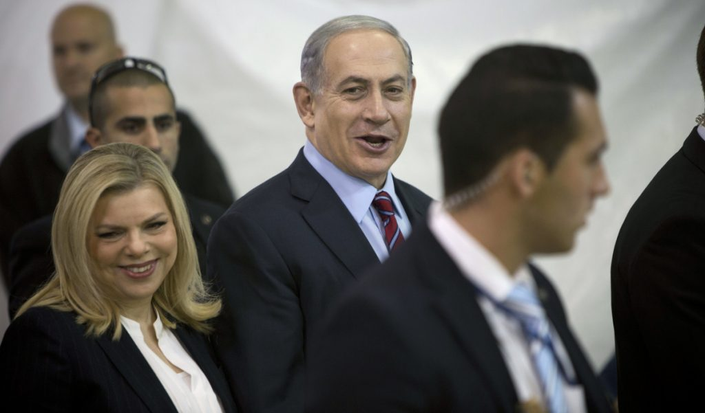 Israeli Prime Minister Benjamin Netanyahu and Israel's first lady, Sara Netanyahu, were questioned by police Friday.
