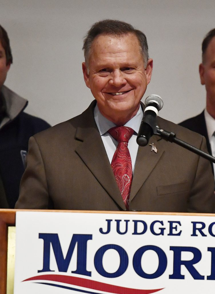 Former U.S. Senate candidate Roy Moore says his legal bills from a civil suit could top $100,000.