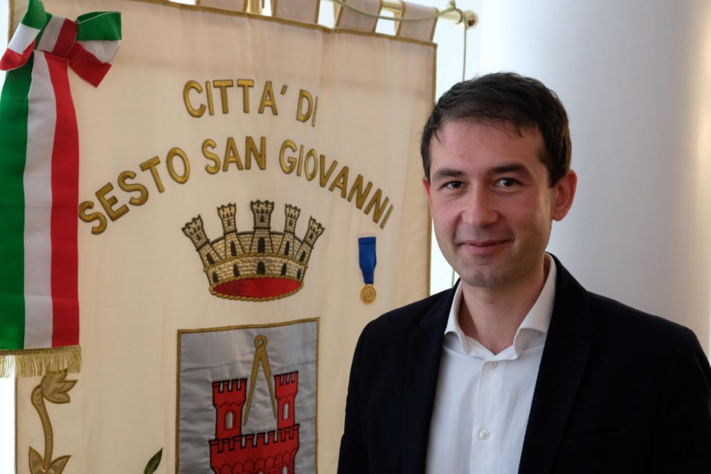 Sesto San Giovanni Mayor Roberto Di Stefano has led a campaign to get tough on migrants in his town.