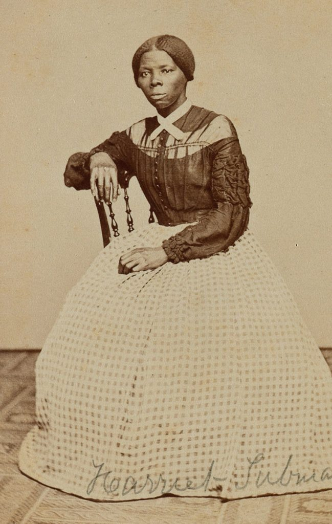 A undated photograph of Harriet Tubman, the 19th century abolitionist.