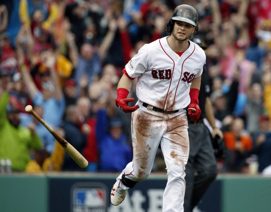 Andrew Benintendi is taking a more aggressive approach at bat this spring, and feels this will prepare him to pounce on the first pitch once the regular season begins.