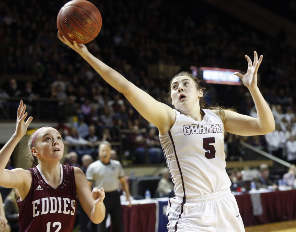 Gorham's Mackenzie Holmes has already played in three Class AA state championship games, and with four starters returning for the Rams, a fourth regional title is a strong possibility.