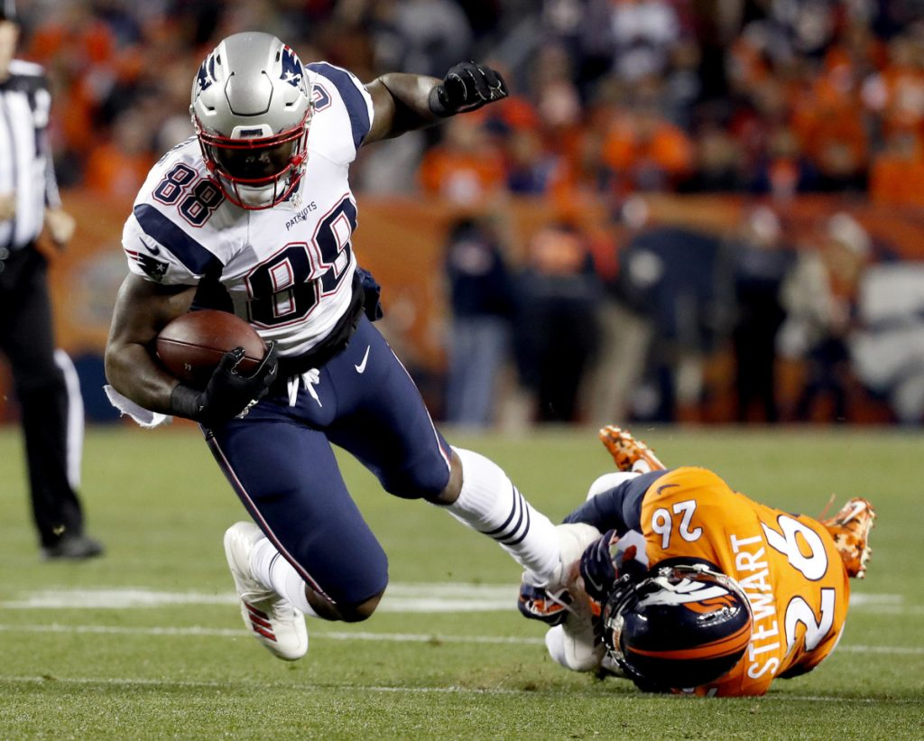 Tight end Martellus Bennett was released on Wednesday by the New England Patriots, who will save about $6 million in salary cap space.