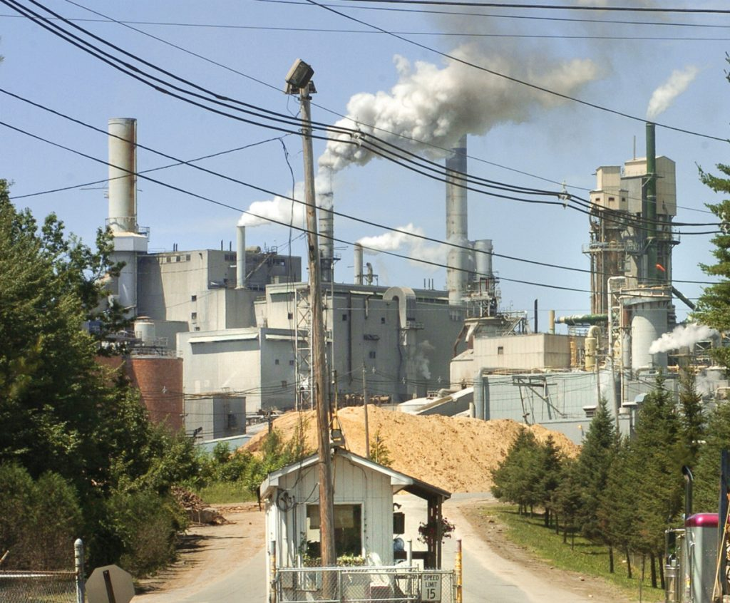Verso's Androscoggin paper mill in Jay employs about 400 people.